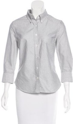 Boy. by Band of Outsiders Pinstripe Button-Up Top $65 thestylecure.com