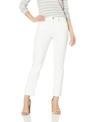 7 For All Mankind Seven7 Women's HIGH Cuff Slim Straight