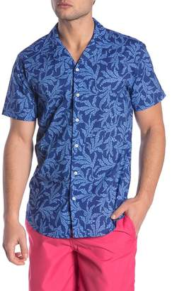 Trunks Surf and Swim CO. Tommy Patterned Short Sleeve Easy Fit Shirt