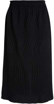 Issey Miyake Tribal Long Fitted Skirt