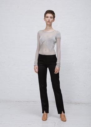 Courreges black trousers fh suit $913 thestylecure.com