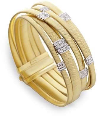 Marco Bicego Masai Multi Band Diamond Bracelet
