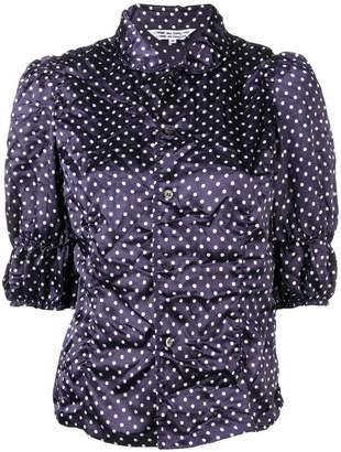 Comme des Garcons polka dot print blouse