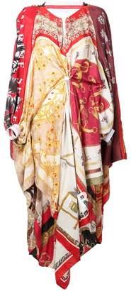 DAY Birger et Mikkelsen Marine Serre scarf print maxi dress
