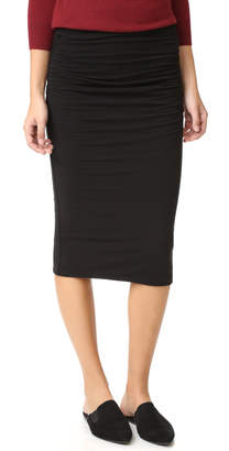 James Perse Shirred Tube Skirt $165 thestylecure.com
