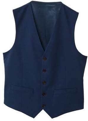 Slim-fit suit gilet