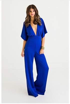 Karlie Blue Jumpsuit