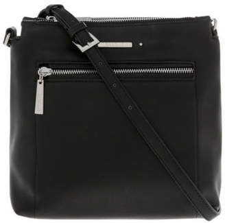 Basque NEW Avery Zip Top Crossbody Bag Black