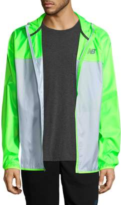 New Balance Men's Windcheater Colorblocked Jacket
