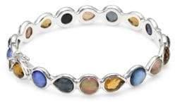 Ippolita Rock Candy Sterling Silver Multi-Stone Bangle Bracelet