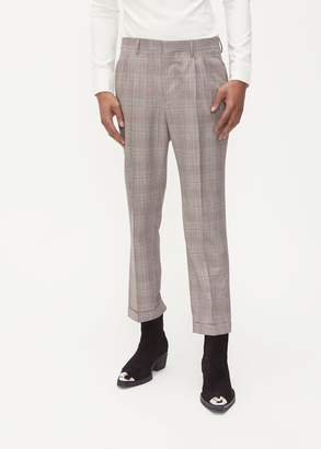Calvin Klein Glen Plaid Trouser