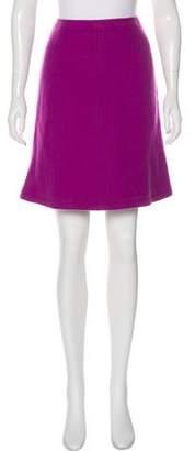 Max Mara Weekend Wool Knee Length Skirt