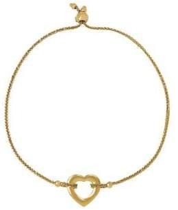 Lord & Taylor 14K Yellow Gold Slider Bracelet