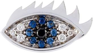 Delfina Delettrez 'Eyes on me' diamond and sapphire earring