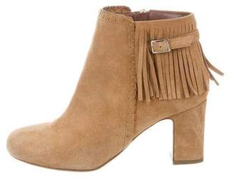 Tabitha Simmons Suede Surrey Booties