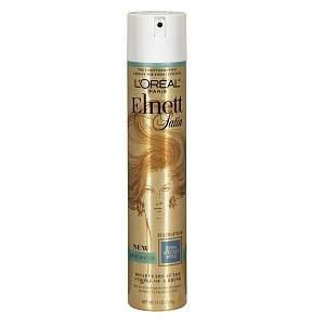 L'Oreal Elnett Satin Hairspray, Extra Strong Hold, Unscented