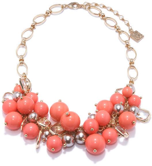 Anne Klein Bauble Necklace