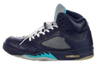 Nike Jordan 5 Retro Hornets Sneakers