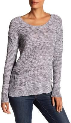 Susina Hatchi Knit Hi-Lo Sweater