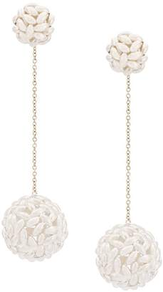 Bea Yuk Mui Bongiasca rice ball drop earrings