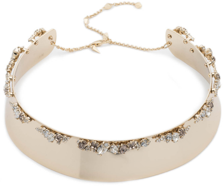 Alexis Bittar Stone Enhanced Bold Collar Necklace