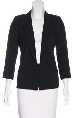 Smythe Wool Long Sleeve Blazer