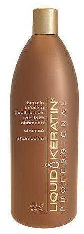 Liquid Keratin Professional Keratin Infusing Healthy Hair De-Frizz Shampoo, 33 oz 33 oz (976 ml)