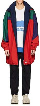 Martine Rose Men's Colorblocked Canvas Oversized Parka