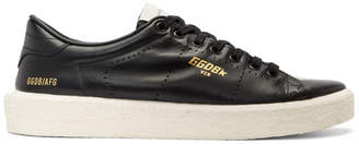 Golden Goose Black Vulcanized Tennis Sneakers