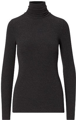 Polo Ralph Lauren Ribbed Jersey Turtleneck $78 thestylecure.com