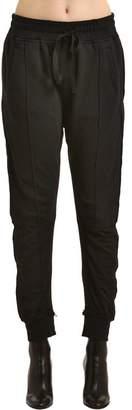 Haider Ackermann Cotton Sweatpants W/ Inserts