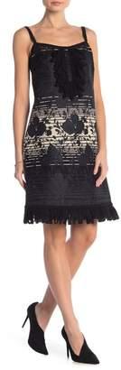 Anna Sui Floral Jacquard Dress