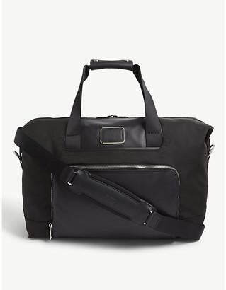 Tumi Alpha 3 expandable nylon satchel