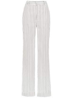 Tufi Duek striped wide leg trousers