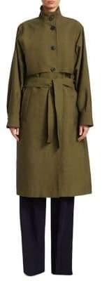 Victoria Beckham Belted Trench Coat