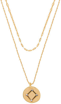 Five and Two Orion Libra Necklace