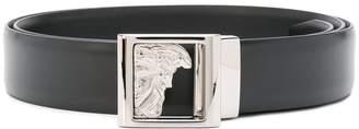 Versace Medusa plate buckle belt