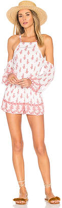 ale by alessandra Katerina Romper in White $170 thestylecure.com