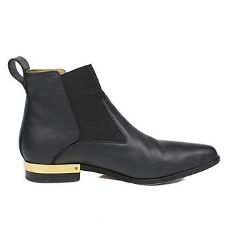 Chloé Black Leather Boots