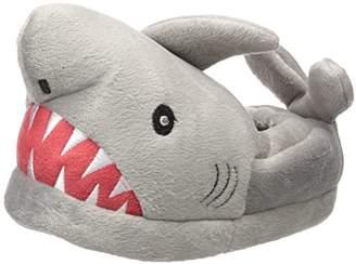 Trimfit Boys' Light-up Eyes Shark Slippers Moccasin