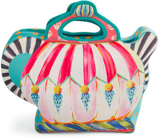 Mackenzie Childs Teapot Lunch Tote