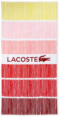 Lacoste Red Cocktail Beach Towel
