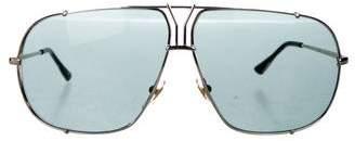 Saint Laurent Tinted Aviator Sunglasses
