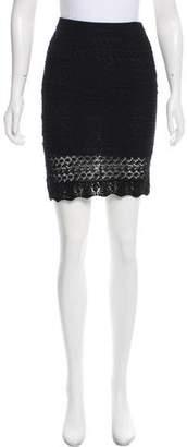 Isabel Marant Crochet Knee-Length Skirt