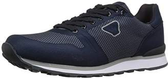 Armani Jeans Men's Mesh Detail Sneaker Fashion