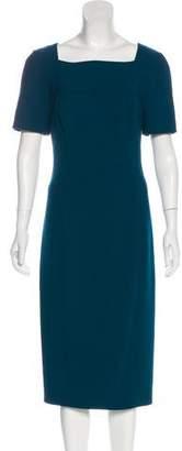 Jason Wu Virgin Wool Midi Dress