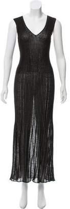 Chanel Linen Maxi Dress