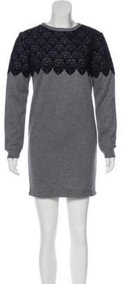 Manoush Embroidered Mini Dress