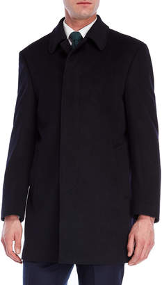 Lauren Ralph Lauren Navy Jake Overcoat