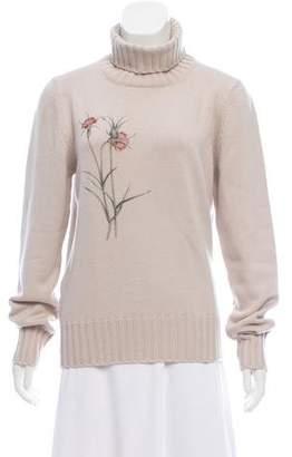 Bottega Veneta Cashmere Intarsia Sweater